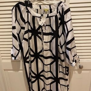 Black and White NWT Swimsuit cover